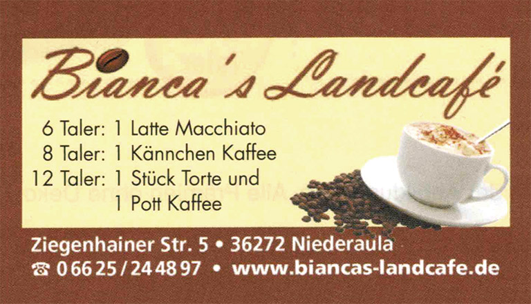 biancas landcafe bonustaler kooperationspartner