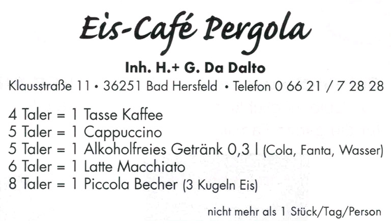 eis cafe pergola bonustaler kooperationspartner