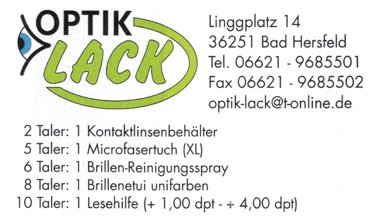 optik lack bonustaler kooperationspartner