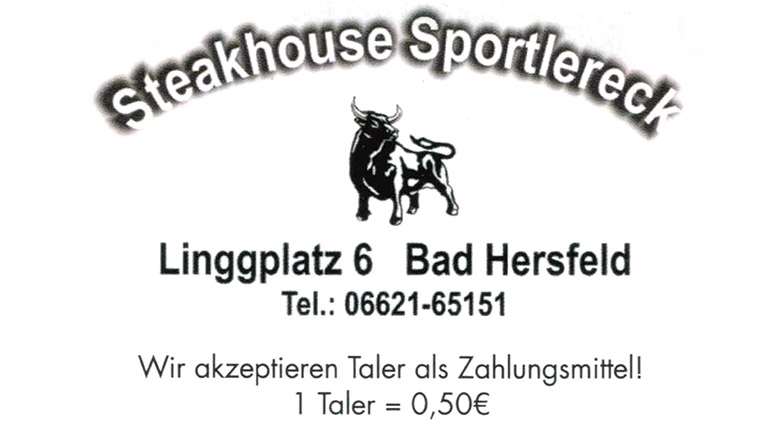 steakhouse sportlereck bonustaler kooperationspartner