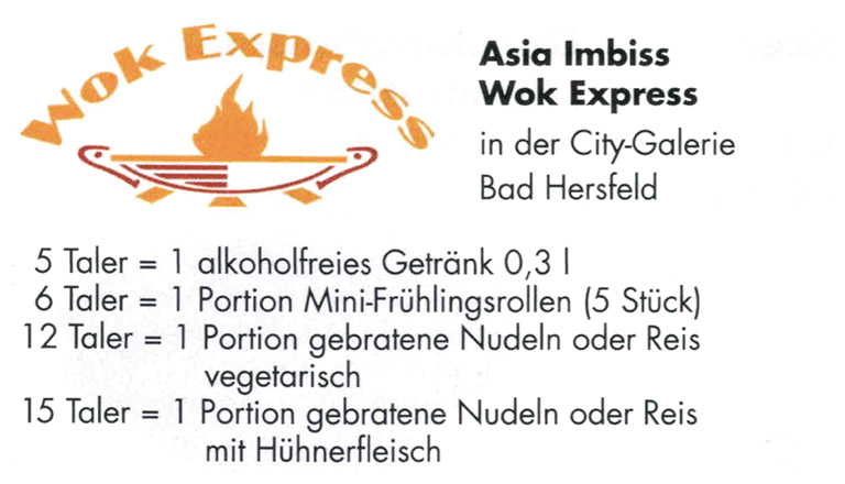 wok express bonustaler kooperationspartner